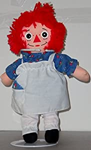 """Raggedy Ann 12"""" Collectors Original Doll with Heart by Hasbro Mint"""