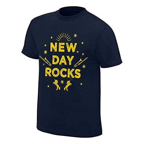 The New Day Rocks Dark T-shirt