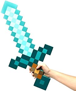 Exclusive Minecraft Foam Diamond Sword