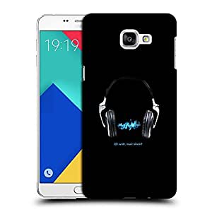 Snoogg Lie Sucks Music Doesn'T Designer Protective Back Case Cover For SAMSUNG A9