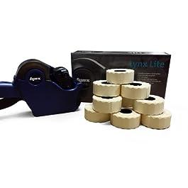 Lynx Lite dbc20CODE de date Price Gun Kit de démarrage avec étiquettes Jaune permanent