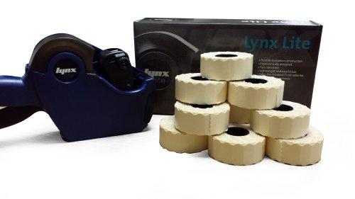 Lynx Lite dbs10CODE de date Price Gun Kit de démarrage avec étiquettes Bleu pelables