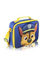 Paw Patrol Bolsa porta alimentos Portameriendas Térmico 3D Patrulla Canina Chase (Azul Marino)