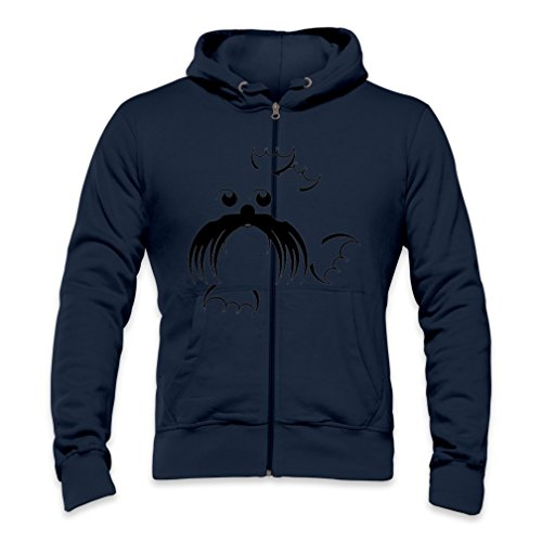 Bearded Seal Mens Zipper Hoodie Xx-Large