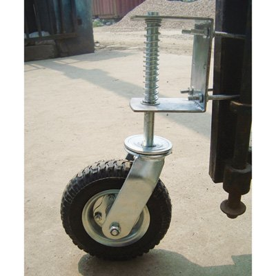 Gate Wheel with Suspension – 210-Lb. Capacity, 8in. Pneumatic Tire, Model# CT-GW01