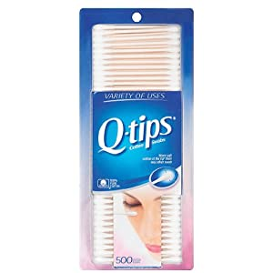 Q-tips Cotton Swabs, 500 Count