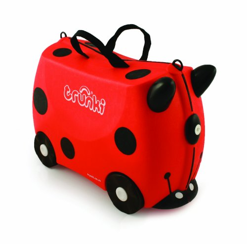 Trunki Harley the Ladybug Ride-on Suitcase (Limited Edition)