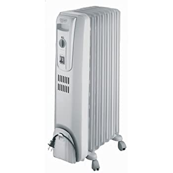 The DeLonghi TRO715 Safeheat 1500W Basic Portable Oil-Filled Radiator maximizes heat flow and minimizes surface temperature with patented thermal slots. The unit is permanently sealed with pure diathermic oil for stable, efficient heating and never n...