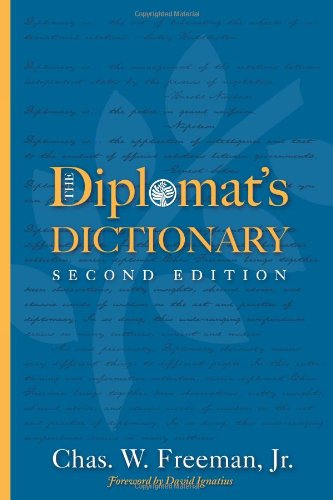 Diplomat's Dictionary (Cross-Cultural Negotiation Books)