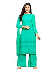 Pure Cotton Dress With Plazo Style - B019677CYY