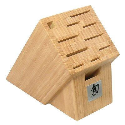 Shun Bamboo 11 Slot Knife Block
