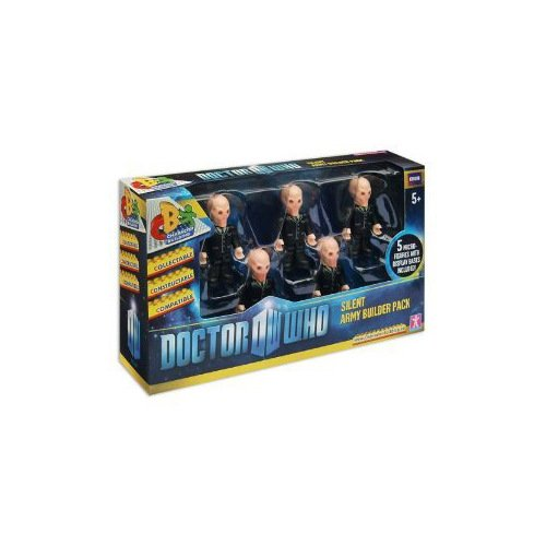 Doctor Who Micro Figures Silent Army Builder 5 pack Mini Figure - 1