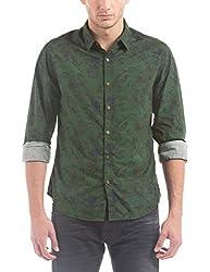 Shuffle Men's Casual Shirt (8907423019003_2021515401_Small_Grey)