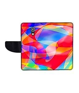 KolorEdge Printed Flip Cover For Motorola Moto G2 Multicolor -(50KeMLogo12350MotoG2)