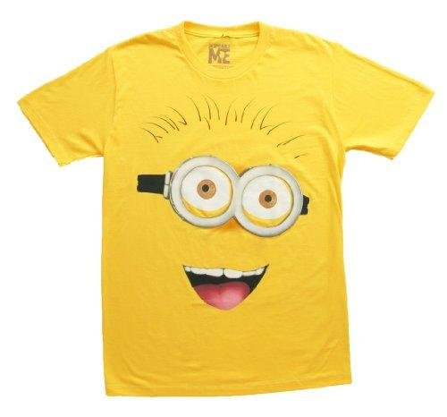 Despicable-Me-2-Front-Face-T-Shirt-Yellow