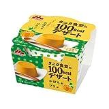 森永 タニタ食堂の100kcalデザート かぼちゃプリン85g 10個