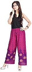 Soundarya Women Palazzo Pants-Purple,PL18
