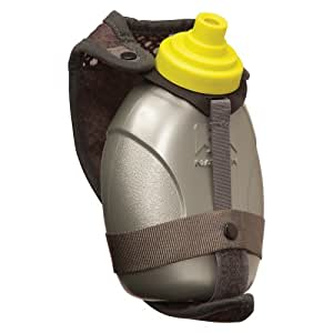 Nathan Quick Shot Handheld Hydration Pack, Grey/Sulphur Spring