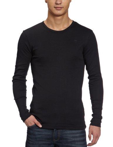 G-STAR - 8753-124-020, T-shirt da uomo, Nero, M/48/50