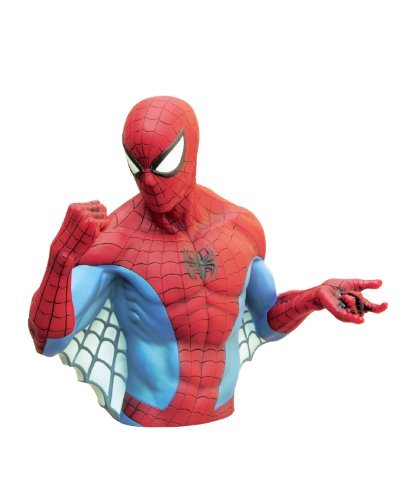Marvel Bust Bank Spiderman Action Figures By Marvel Picture