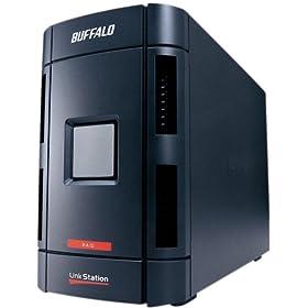 BUFFALO Link Station RAID機能 省エネ ネットワーク対応HDD2TB LS-WH2.0TGL/R1