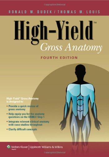 High-Yield™ Gross Anatomy (High-Yield Series) front-922485