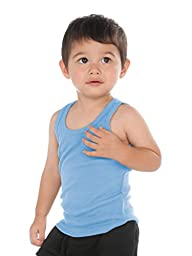 Kavio! Unisex Infants Beater Tank (Same I2Y0514) Blue 18M
