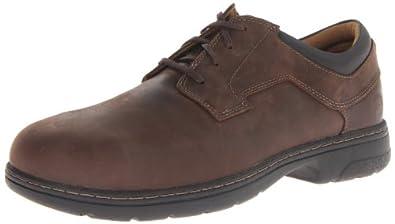 Timberland PRO Men's Branston Brown Oxford Work Shoe,Brown Distressed,7 M US