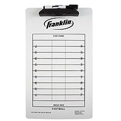 Buy Franklin Sports Football Coach Clip Board, 15.75x9-Inch by Franklin