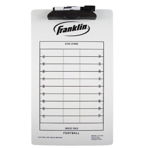 Franklin Sports Football Coach Clip Board, 15.75x9-Inch (Football Coach Board compare prices)