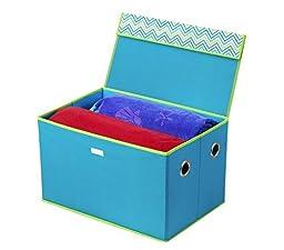 Bintopia 44013 Storage Box, Cyan Blue - Green