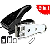 UNIVERSAL MICRO NANO DUAL 2 IN 1 SIM CUTTER FOR APPLE, NOKIA, SAMSUNG, LG NEXUS, HTC iPHONE 4 5 5S iPAD AIR TAB...