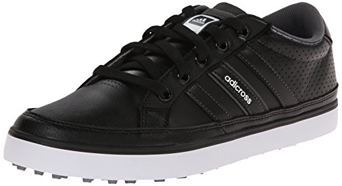 adidas Men's Adicross IV Golf Shoe, Core Black/Core Black, 11.5 M US/11 M UK