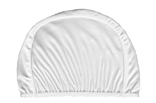 Aqua World's Children's Lycra Swimming Caps (White)