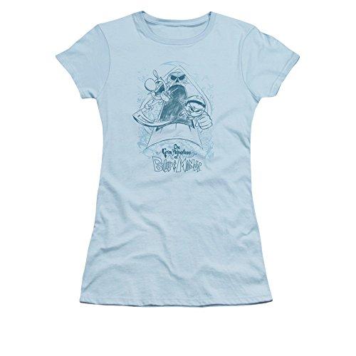 Grim Adventures Of Billy & Mandy Cn Tv Series Sketched Juniors Sheer T-Shirt Tee