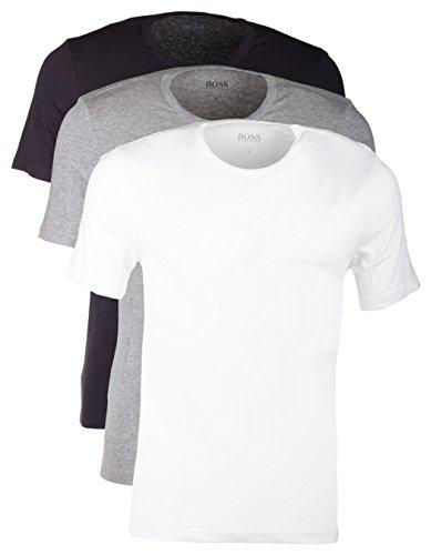 hugo-boss-lot-de-3-o-ouverture-t-shirt-pour-homme-a-col-rond-graumeliert-blanc-noir-multicolore-medi