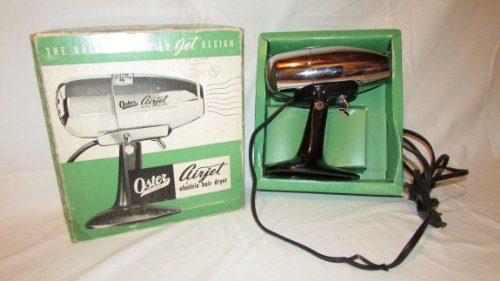 Oster Airjet Electric Stand Up Hand- Free Hair Dryer With Original Box