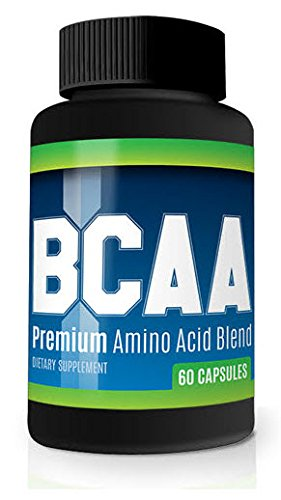 BCAA Amino Acids 1600 mg Maximum Strength Bodybuilding Supplement