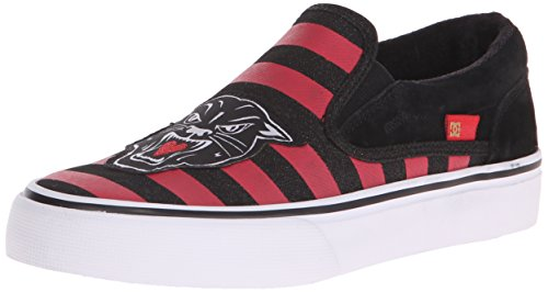 DC Women's Trase Slip-On X TR Skate Shoe, Red/Black, 7 M US