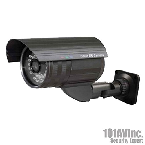 "101Av 700Tvl Bullet Camera 1/3"" Sony 960H Ccd 2.8-12Mm Varifocal Lens 100Ft Ir Range 36Pcs Infrared Leds Osd Control Wdr Wide Dynamic Range Weatherproof Vandal Proof Metal Housing High Resolution Color Wide Angle View Day Night Vision For Cctv Dvr Home Of front-716501"