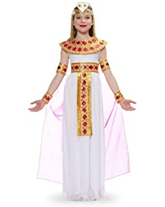 Pink Cleopatra Egyptian Queen Kids Costume by Franco