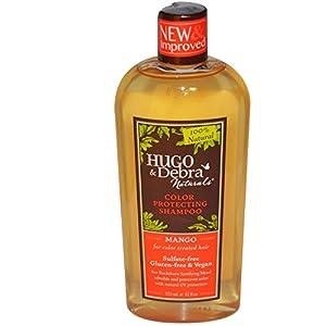 Hugo Naturals Color Protecting Shampoo, Mango, 12 Ounce
