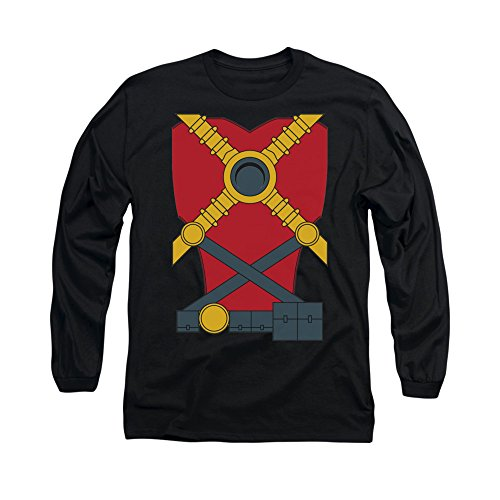 Justice League Of America DC Comics Red Robin Armor Costume Adult L-Sleeve Tee