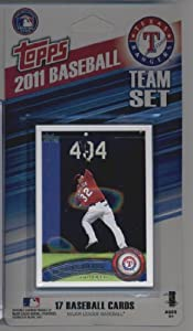 2011 Topps Limited Edition Texas Rangers Baseball Card Team Set (17 Cards) - Not... by Topps