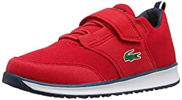 Lacoste L.Ight 116 1 Sneaker (Toddler/Little Kid/Big Kid), Red, 8 M US Toddler