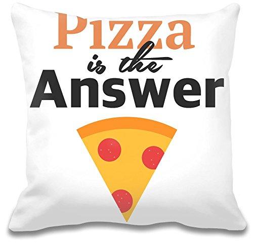 Pizza è la risposta Custom decorativo pillow| Ultra morbido e qualità Premium polyester| Personalizzare Cuscino w/esclusiva e Authentic designs| cuscini decorativi da Bang Bangin