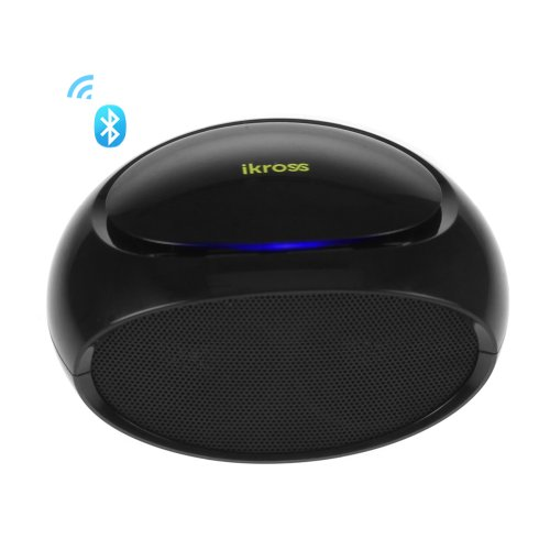 Ikross Bluetooth Stereo Speaker With Multi Support Function Handsfree, Fm Radio, Micro-Sd/Usb Flashdrive Music Playing, 3.5Mm Aux For Lg G2, G Flex, New Htc One, Asus Transformer T100, T300, Dell Venue 8 Pro, 11 Pro, Hp Slate Tablet Laptop Smartphone And