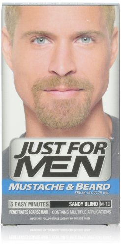 Just for Men Brush-In Color Gel for Mustache,