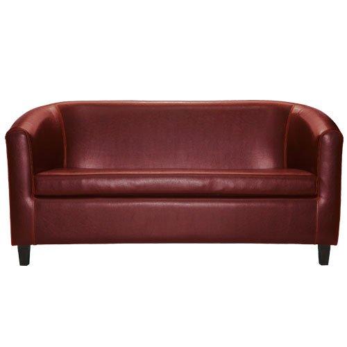 2-Sitzer Sofa Winston bordeaux BxTxH=160x70,5x79 cm 1 St.