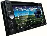 Sony XAV63 - Radio para coche con pantalla táctil WVGA de 6.1 pulgadas y conexión USB frontal
